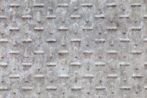 betonplaat met traanplaatmotief